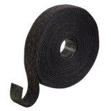 Hook & Loop Fastener, 3/4″, Black, Roll of 15 ft