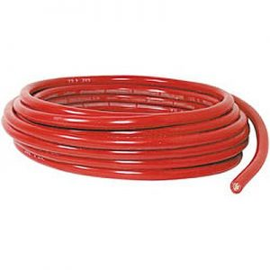 Red Battery Cable Coil, 6 Ga ( 25 ft)