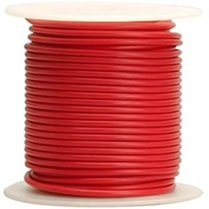 Red Battery Cable, 6 Ga ( 500 ft roll)