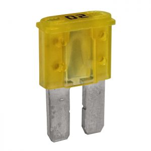 20 Amp Micro-2 style blade fuse (Yellow)