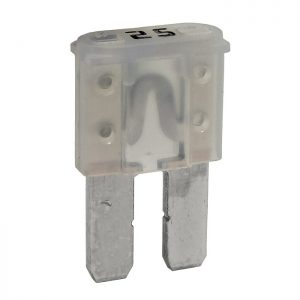 25 Amp Micro-2 style blade fuse ( clear)