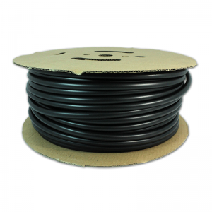 1/8″ id heat shrink- polyofelin- 2:1-100 ft. roll – black