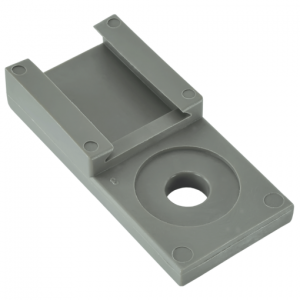 mounting clip DTM series .2,3,4,6,12 Cavity-gray