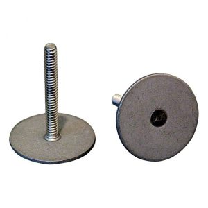 304 Stainless Studs 1.50 height – #8-32 thread – Weld Mount