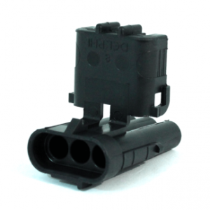 Weatherpack housing connectors-4 way -recepticle shroud-12010974