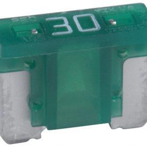 30 Amp Low Profile Mini Blade Fuse  ( Green)