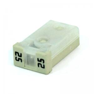 25 Amp MCase Cartridge Style Female Fuse 2.8mm – time delay (White)