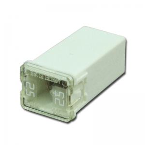 25 amp JCASE Cartridge Standard Fuse ( White)