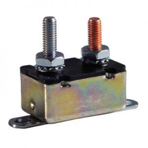 50 amp circuit breakers . Standard Type 1 – 12 v- in-line bracket