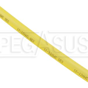 5/16″ translucent red heat shrink – dual wall -3:1 – 12″ length