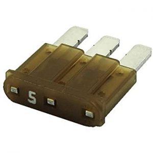 5 Amp Micro-3 style blade fuse ( Tan)