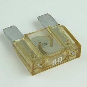 80 Amp MAXI blade fuse ( Clear)