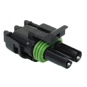 Weatherpack housing connectors-2 way – female-12015792