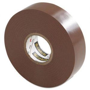Brown electrical tape , 3M, 35 Plus -Brown
