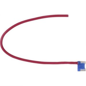 15 amp MINI LOW PROFILE FUSE with pigtail lead -16 ga