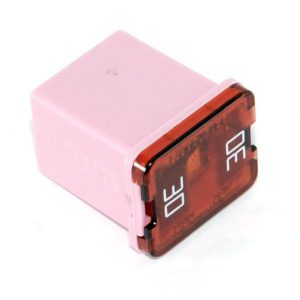 30 amp- JCASE Cartridge -Low Profile Fuse ( Pink)