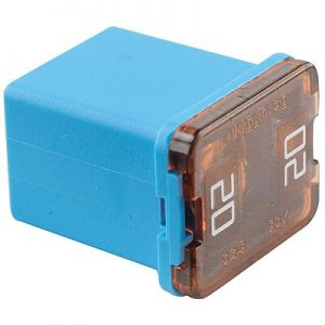 20 Amp – JCASE Cartridge -Low Profile Fuse( Blue)
