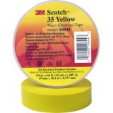 Yellow electrical tape , 3M, 35 Plus -Yellow