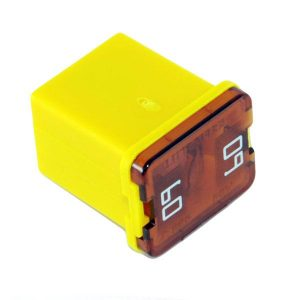 60 amp-JCASE Cartridge -Low Profile Fuse ( Yellow)