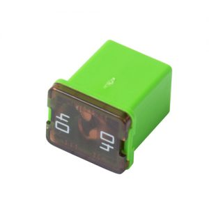40 amp- JCASE Cartridge -Low Profile Fuse (Green)