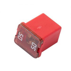 50 amp- JCASE Cartridge -Low Profile Fuse (Red)
