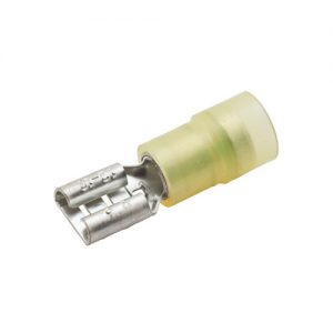 Female Push-On Terminal, .375″, 12-10 Ga