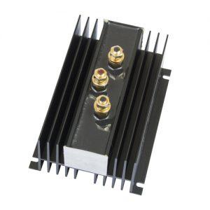 ProMariner Battery Isolator, 2 Alternator/2 Batteries, 130 Amp