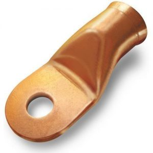 1 gauge copper lug , 1/4″ stud