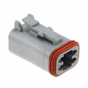 Deutsch DT Series Housing 4 way plug-DT06-4S