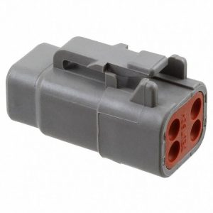 Deutsch 4 way socket plug housing-DTP Series- DTM06-4S