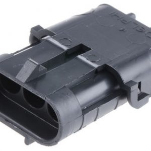 Weatherpack housing connectors – 3 way -recepticle shroud-12010717