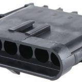 Weatherpack housing connectors- 6 way- ,male- recepticle shroud -12020975