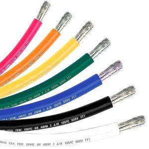 12 gauge marine tinned primary wire-black – 500 ft