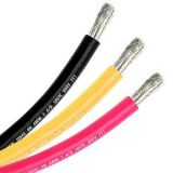 1/0 gauge marine tinned cable -yellow-100 ft