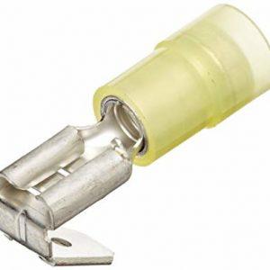 Nylon Insulated Piggyback, .250″, 12-10 Ga