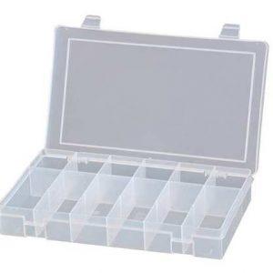 12 compartment PVC box – SP12-CLR