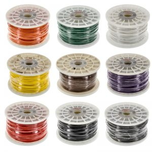 18 gauge primary wire- GXL- white -500 ft- USA