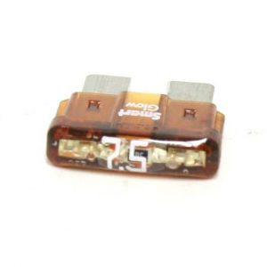 7.5 Amp ATC/ATO LED Smart Glow Fuse(Brown)