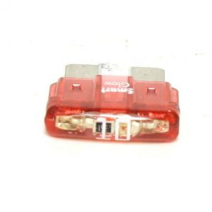 10 Amp ATC/ATO LED Smart Glow Fuse  ( Red)