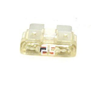25 Amp ATC/ATO LED Smart Glow Fuse ( Clear)