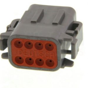 Deutsch 8 way socket plug housing-DTP Series-DTM06-08SA