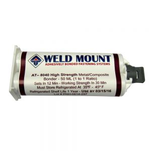 AT-8040- No slide Multibonder Adhesive-Weld Mount