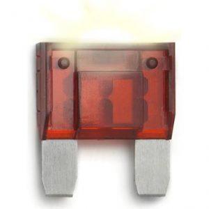 50 Amp MAXI FUSE LED Smart Glow Fuse  ( Red)